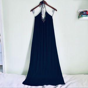 Black maxi dress size M